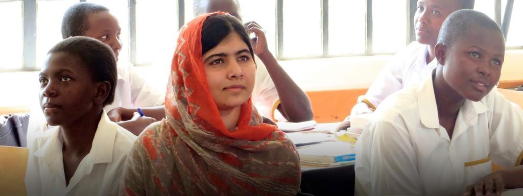 Die jüngste Friedensnobelpresiträgerin der Geschichte- Malala ist nich nciht mal 18.