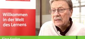 Große Pause, große Namen: Klaus Kordon