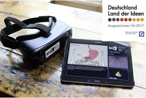 """Virtual-Reality-App von Samsung und Cornelsen als """"Ausgezeichneter Ort"""" 2017 prämiert"""