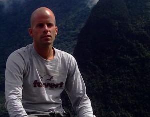 Andi unterwegs im südamerikanischen Gebirge. (Foto: privat)