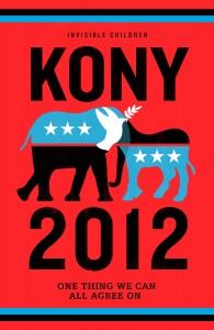 Kony 2012: Eines der Poster, das am 20. April überall auf der Welt hängen soll.