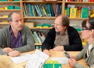 Lehrergruppe an der Hauptschule Anrath-Willich