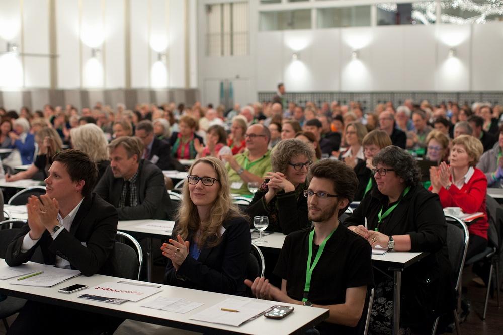 Rund 300 Schulleiterinnen und Schulleiter sind an diesem Wochenende aus ganz Deutschland in Dortmund zusammengekommen. Foto: Alex Büttner