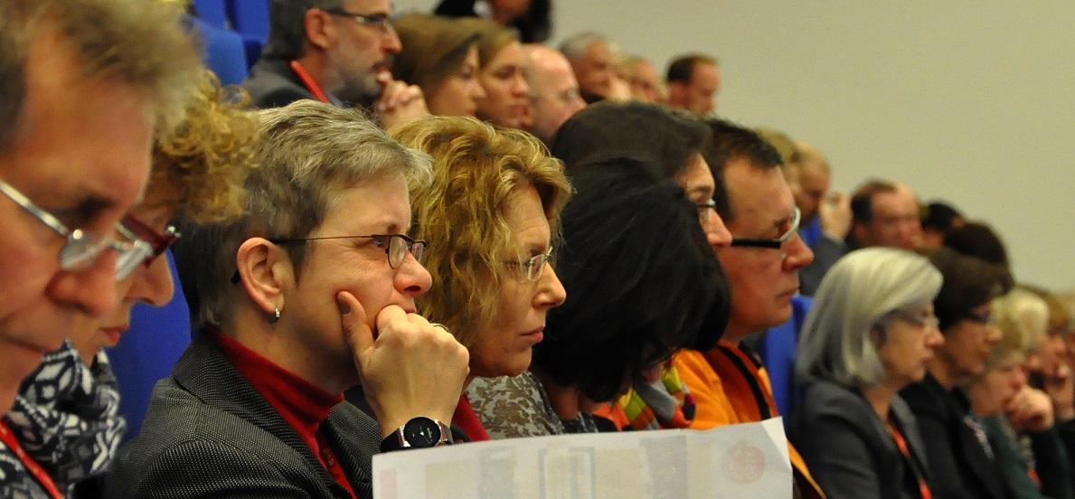 Teilnehmer des Deutschen Schulleiterkongresses. Foto: Susanne Schnabel