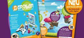 Digitale Spiele – die neue Ausgabe von SCROLLER!