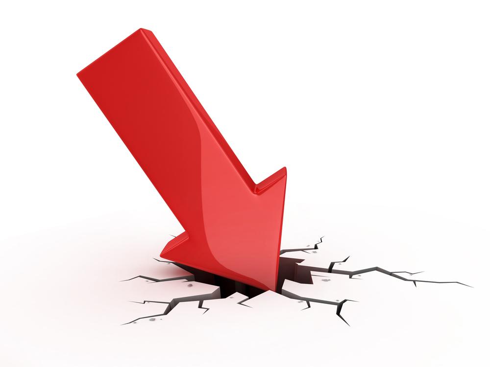 Absturz: Der aktuelle IQB-Viertklässler-Test ist schlechter ausgefallen als der von 2011. Illustration: Shutterstock