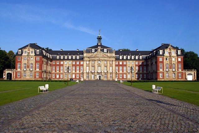 Sollte eine beispiellose Party erleben: die Universität Münster; Foto: WWU Münster/Peter Grewer