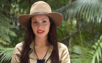 Im Dschungelcamp: Model Nathalie. Um ihre Mutter geht es. Foto: RTL