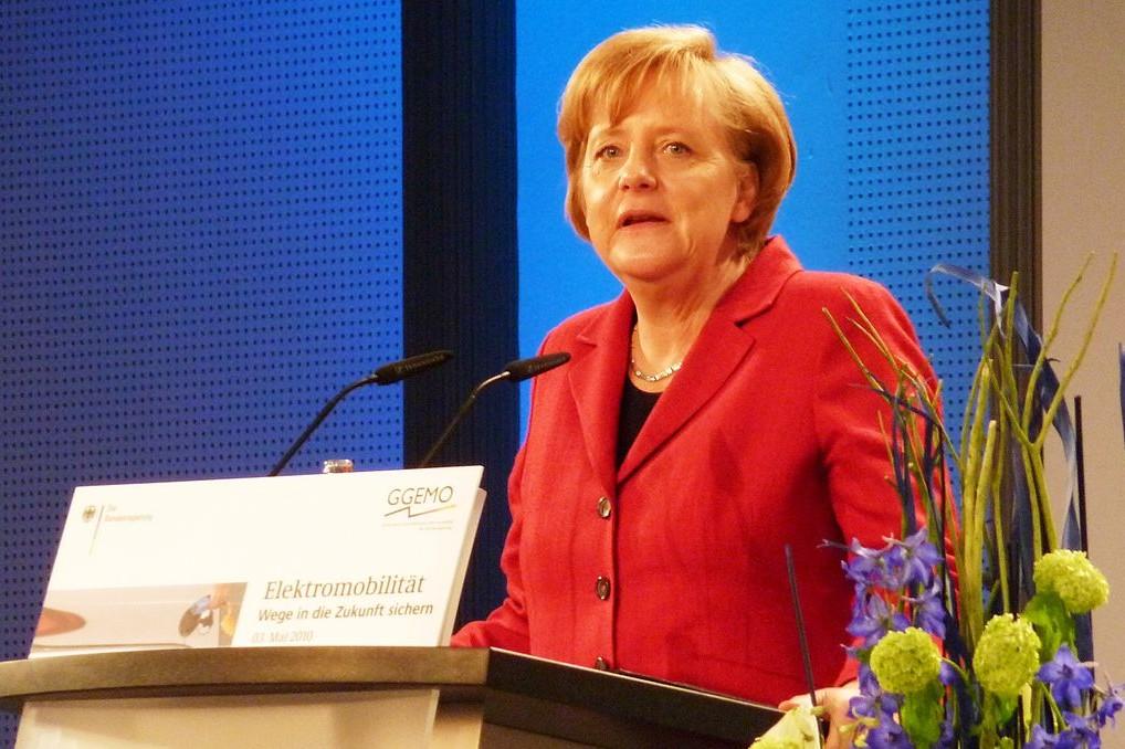Bundeskanzlerin und CDU-Chefin Angela Merkel äußerte sich in ihrer wöchentlichen Videobotschaft. Foto: Rudolf Simon / Wikimedia Commons (CC-BY-3.0)