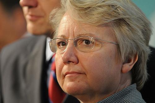 Steht vor einer schwierigen Woche: Bundesbildungsministerin Annette Schavan (CDU). Foto: Sebastian Gerhard / Flickr