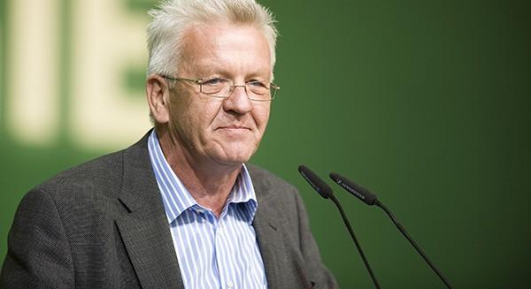 Wahlsieger: Winfried Kretschmann (Grüne). Foto: BÜNDNIS 90/Die Grünen/Flickr CC BY 2.0