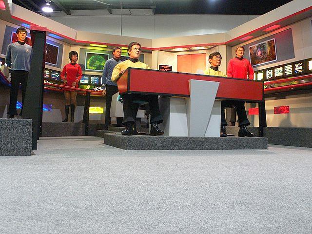 """Eine Nachbildung der Fernsehkulisse aus """"Raumschiff Enterprise"""" (Foto: Cory Doctorow/Wikimedia CC BY-SA 2.0)"""