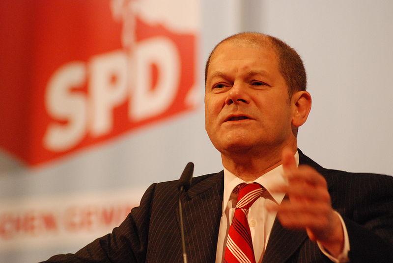 Schulz als möglicher Spitzenkandidat für die Bundestagswahl: Olaf Scholz. Foto: SPD in Niedersachsen / Wikimedia Commons (CC BY-SA 2.0)