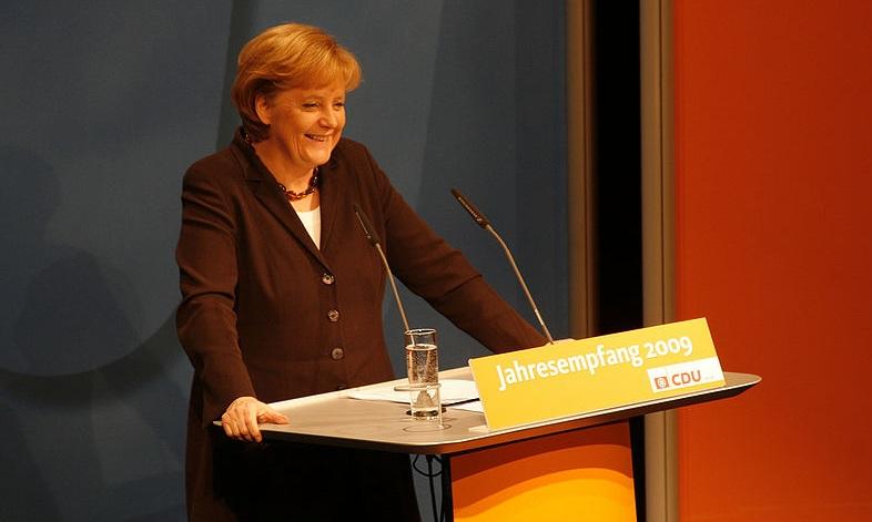 Sachlich reagiert: Bundeskanzlerin Angela Merkel. Foto:
