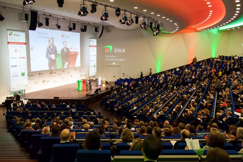 Der Deutsche Schulleiterkongress ist die größte Veranstaltung seiner Art in Deutschland. Foto: DSLK