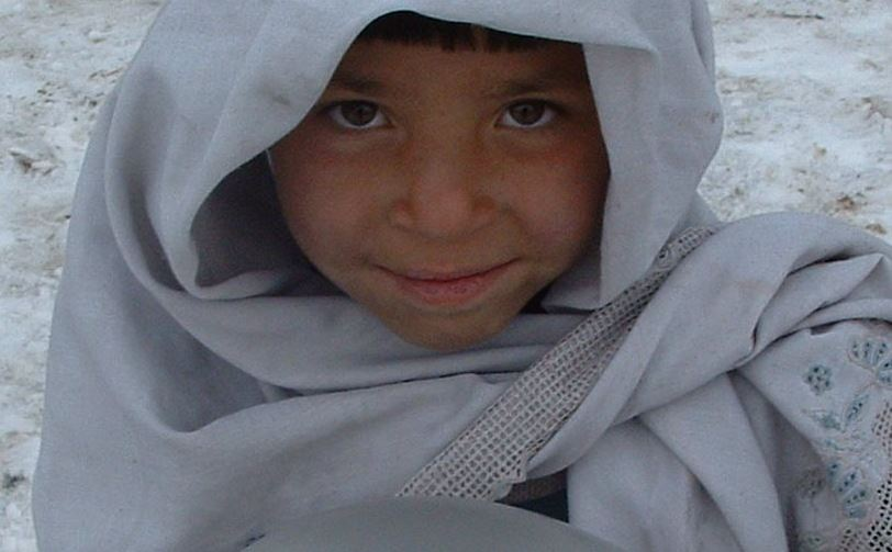 Flüchtlingskind aus Afghanistan. Foto: Tracy Hunter / flickr (CC BY 2.0)