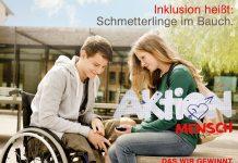 Werbeplakat der Aktion Mensch zum Thema Inklusion. Foto: Aktion Mensch