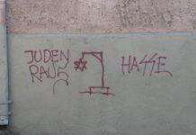 Antisemitische Schmiererei. Die Schule darf sich nicht aus der Verantwortung für die Antisemitismusbekämpfung herausstehlen, befinden Samuel Salzborn und Alexandra Kurth. Foto: Beny Shlevich / flickr (CC BY-SA 2.0)