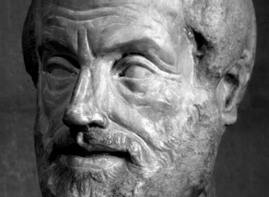 Aristoteles (üste aus dem Louvre)