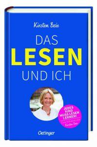 Kirsten Boie, Das Lesen und ich. Cover: Verlag Friedrich Oetinger