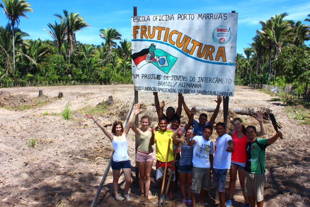 Die Plantage in Brasilien ist für die Bepflanzung vorbereitet, der Brunnen ist gebohrt und die solarbetriebene Pumpe ist bestellt. (Foto: Brasil09 e.V.)