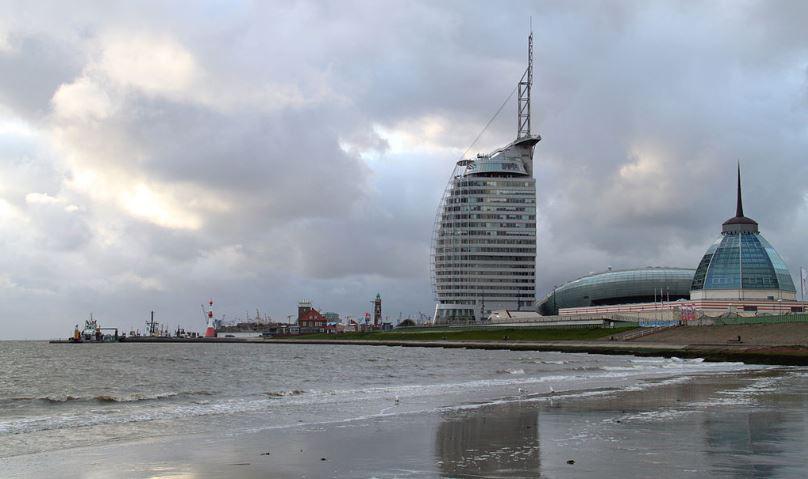 Meerblick in Bremerhaven. Foto: Slick / Wikimedia Commons (CC0 1.0)