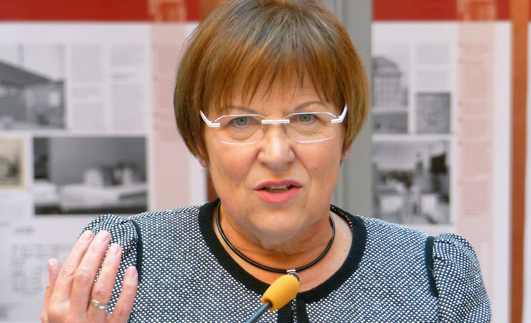 Mahnt: Sachsens Schulministerin Brunhild Kurth. Foto: Dr. Bernd Gross / Wikimedia Commons (CC-BY-SA 4.0)