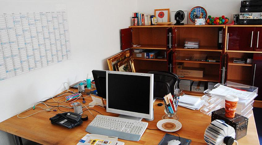Ein harter Job mit viel Verantwortung. Viele Schulleiterbüros im Südwesten bleiben längere Zeit unbesetzt. Foto: Buero-Hotel Domspitzen Köln / flickr (CC BY-SA 2.0)