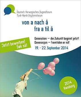 """100 deutsche und norwegische Jugendliche erarbeiten sich gemeinsam das Thema """"Generation - Die Zukunft beginnt jetzt!""""."""