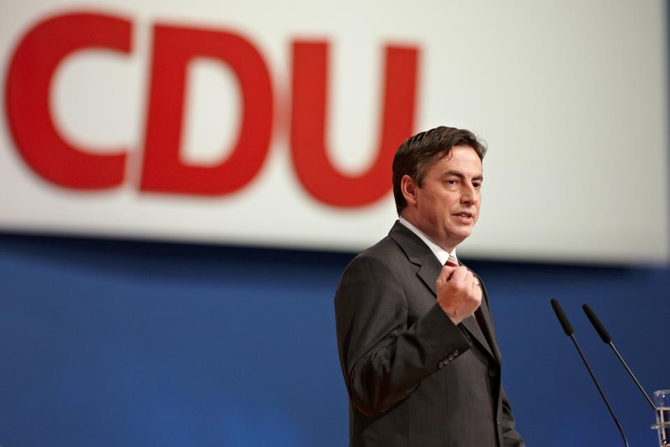 Will das Gymnasium und den Religionsunterricht verteidigen: David McAllister. Foto: CDU