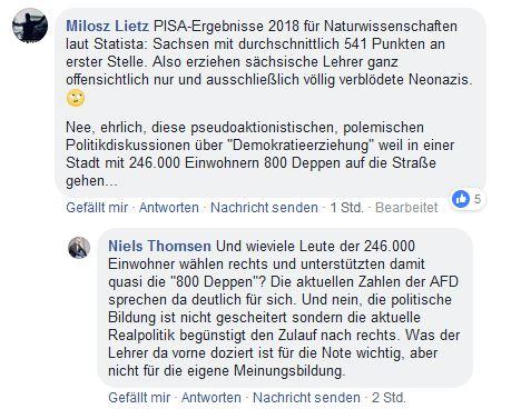 Rechtsextremismus In Sachsen Sind Die Schulen Im Freistaat