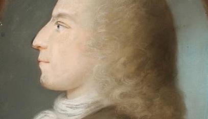 Lebte in Weimar und verkehrte dort mit Goethe: Johannes Daniel Falk, Gemälde von Louise Seidler, um 1805. Foto: Wikimedia Commons