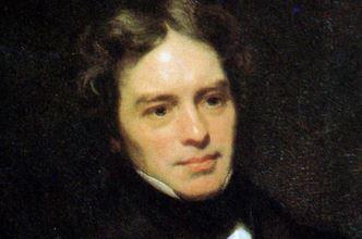 Faraday auf einem zeitgenössischen Gemälde. Repro: Wikimedia Commons