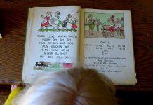Altbewährtes Hilfsmittel für Kinder um Lesen und Schreiben zu lernen: Die Fibel Foto: Oxfordian Kissuth Wikimedia Commons(CC BY-SA 3.0)