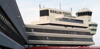 Am Flughafen Berlin-Tegel müssen sich Eltern, die frühzeitig in die Ferien abheben, offenbar kaum Sorgen um Kontrollen machen. Foto: Matti Blume, MB-one / Wikimedia Commons (CC BY-SA 3.0)