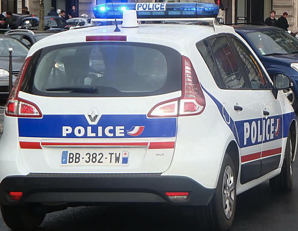französisches Polizeiauto