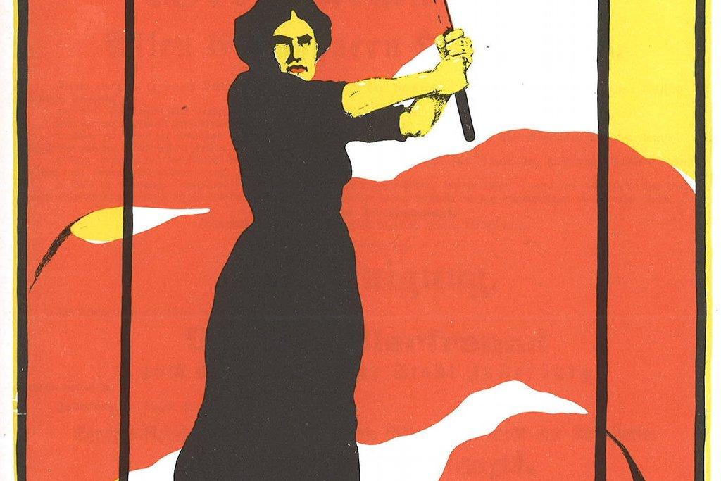Erstmals soll nach dem Willen der Berliner rot-rot-grünen Koalition der 8. März in einem Bundesland zu einem arbeitsfreien gesetzlichen Feiertag erklärt werden. Foto: Plakat der Frauenbewegung zum Frauentag 8. März 1914 (Karl Maria Stadler) / Wikimedia Commons (Public Domain)