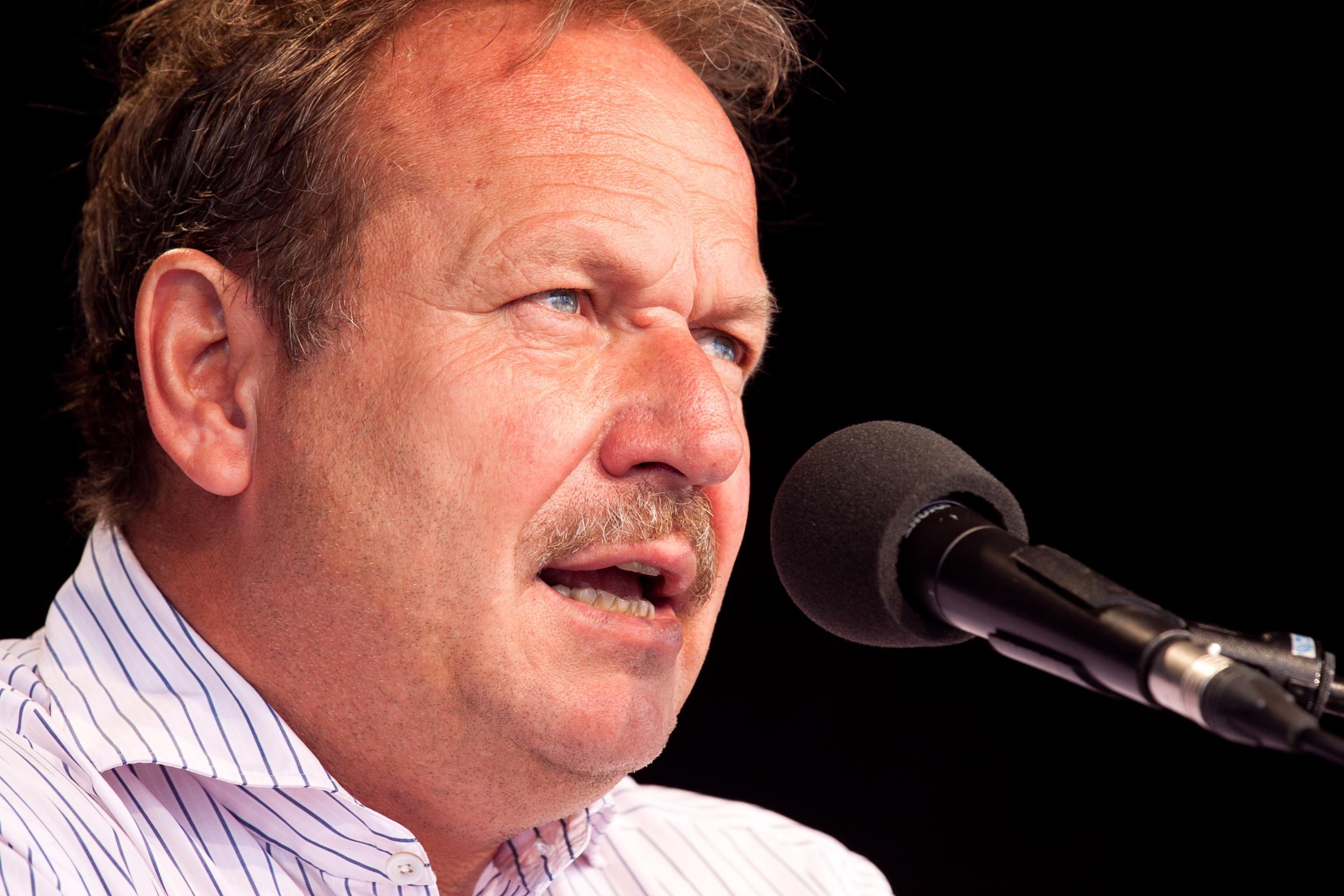 Soll in Berlin als Redner auftreten: Verdi-Chef Frank Bsirske. Foto: Tobias M. Eckric / Wikimedia Commons (CC BY 3.0)