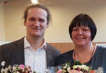 Führen künftig gemeinsam die GEW Mecklenburg Vorpommern: Annett Lindner und Maik Walm. (Foto: GEW MV)