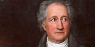 Johann Wolfgang von Darf in der Oberstufe nicht fehlen: Goethe, Ölgemälde von Joseph Karl Stieler, Quelle: Wikimedia Commons
