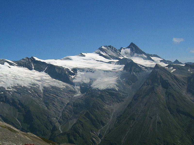 Das ist der Großglockner - der höchste Berg Österreichs -, der auch auf Deutsch Großglockner heißt. Foto: Michael Schmid / Wikimedia Commons (CC BY-SA 2.0 AT)
