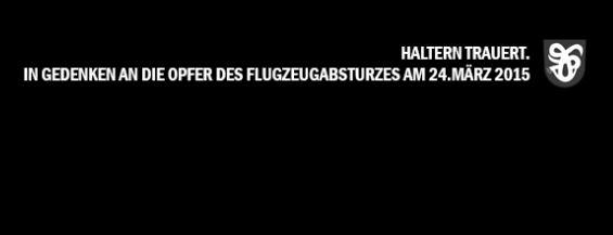 """Die Menschen in Haltern versuchen ihrer Trauer Ausdruck zu verleihen. Sceenshot von der Facebook-Seite """"We love Haltern""""."""