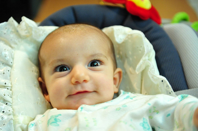 Die Forscher untersuchten 200 Babys. Foto: Hamed Saber / Flickr (CC-BY-2.0)