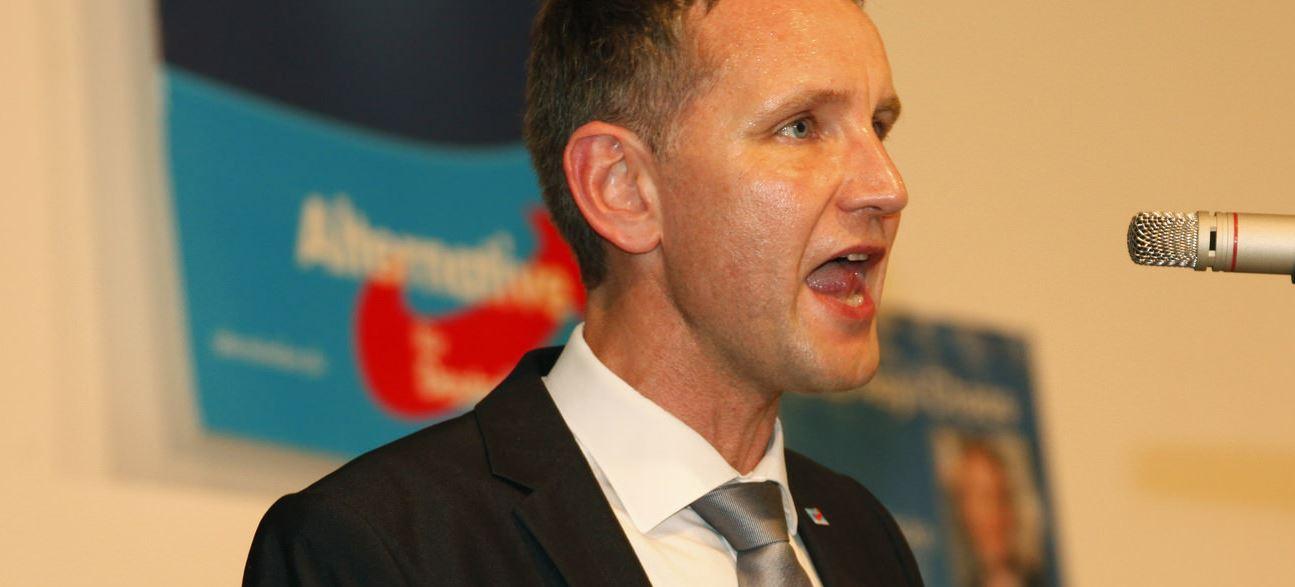 Biedermann und Einpeitscher: Der AfD-Funktionär und Geschichtsleherer Björn Höcke. Foto: Metropolitico.org / flickr (CC BY-SA 2.0)