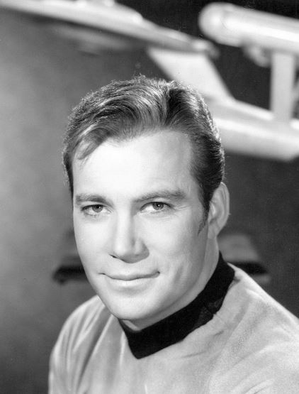 William Shatner alias Captain Kirk, Kommandant des Raumschiffes Enterprise. Foto: NBC Television / Wikimedia Commons