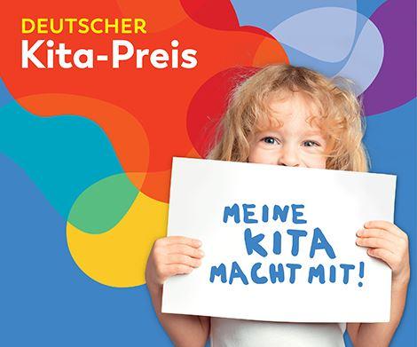 Mit dem Deutschen Kita-Preis sollen hervorragende Kindertagesstätten ausgezeichnet werden. lllu: Deutscher Kita-Preis