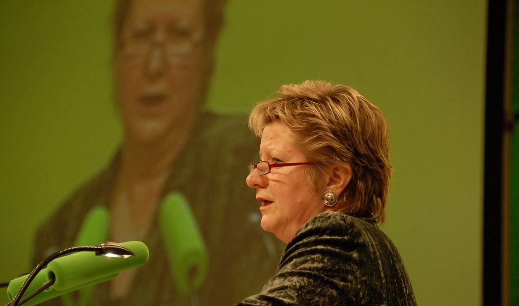 Nordrhein-Westfalens bislang letzte Grünen Schulministerin Sylvia Löhrmann. Von ihrer Politik will sich die Landespartei künftig stärker absetzen. Foto: Bündnis 90/Die Grünen, flickr (CC BY-SA 2.0)