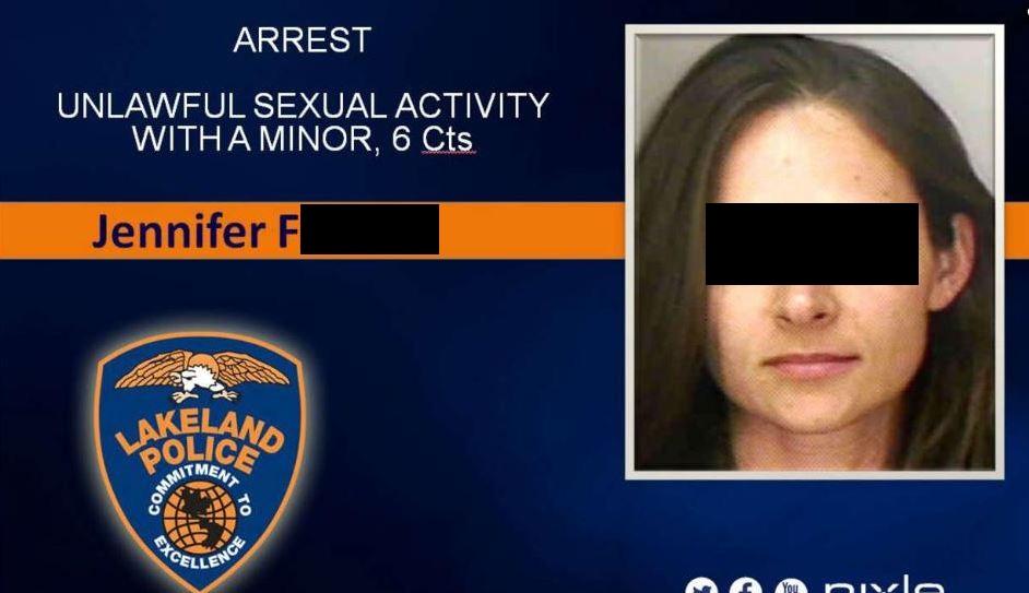 Des Missbrauchs angeklagte Lehrerinnen und Lehrer werden in den USA im Internet gebrandmarkt. Screenshot: Lakeland Police Department
