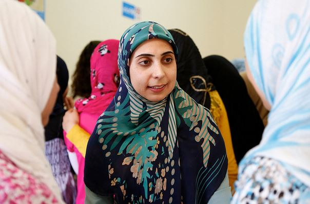 In der Heimat schon als Lehrkraft gearbetet zu haben - wie diese libanesische Lehrerin - ist eine Voraussetzung für die Teilnahme an dem Programm. Foto: DFID - UK Department for International Development / flickr (CC BY 2.0)