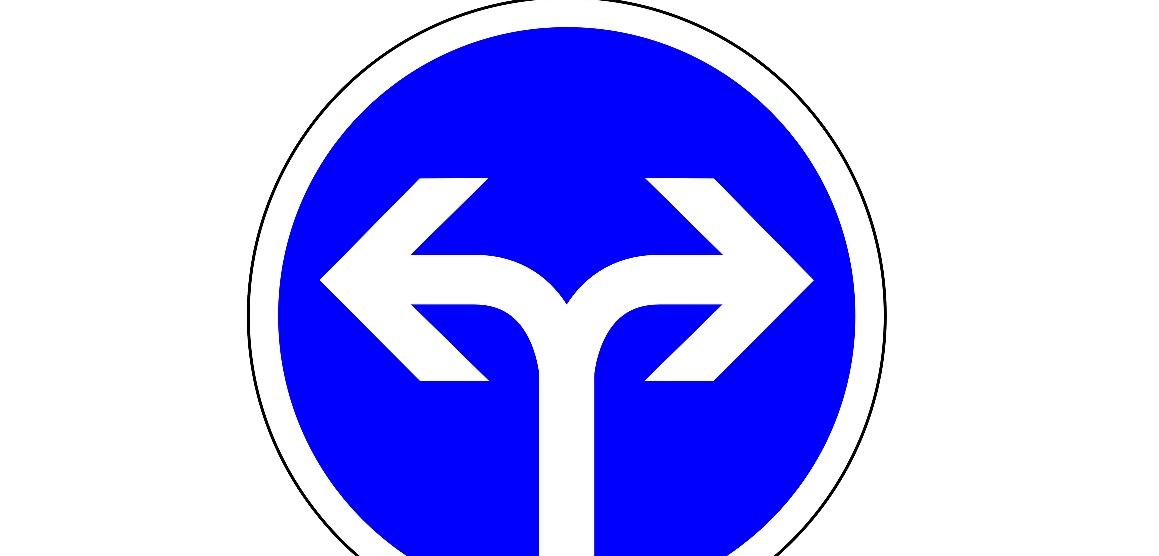 Links oder rechts? Für immer mehr Eltern scheint es nur eine Richtung zu geben. Illustration: pixabay.de / (CC0 1.0)